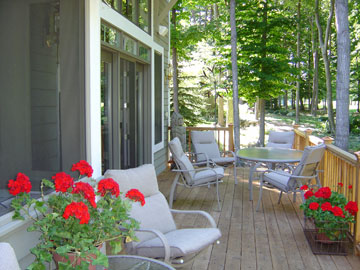 Birchwood Back Deck