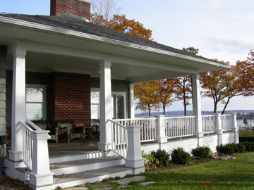 Bluff Drive Porch