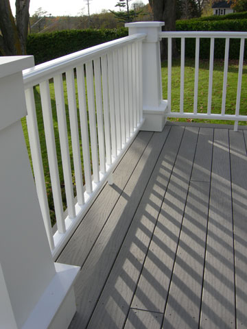 Bluff Drive Railing and Decking